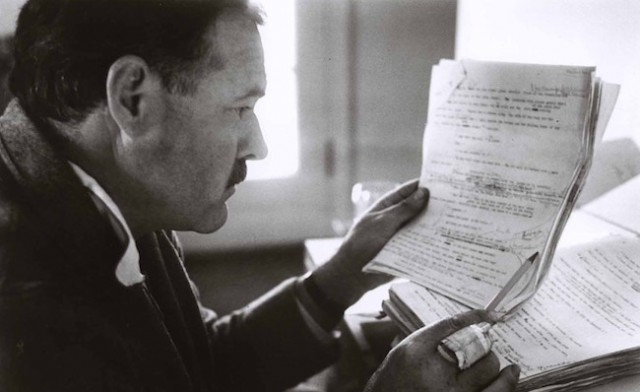 Ernest Hemingway and the first draft